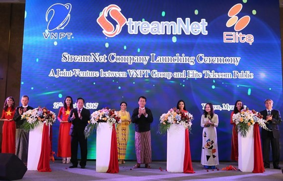 VNPT launches communication joint-venture in Myanmar