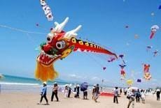 The sixth art kite festival  in Ba Ria-Vung Tau  province