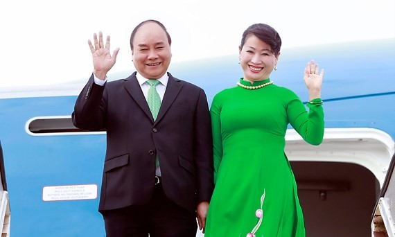 Vietnamese Prime Minister Nguyen Xuan Phuc and his wife pay official visits to New Zealand and Australia