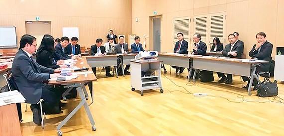 A work between VNUHCM and Kyushu University of Japan