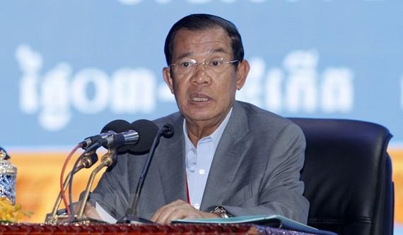 Cambodian Prime Minister Samdech Techo Hun Sen