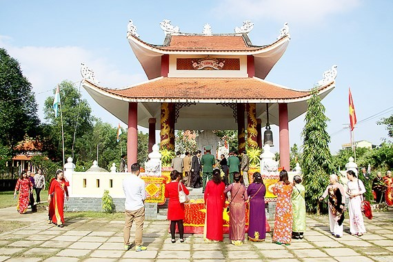 Memorial temple for President Ho Chi Minh & General Vo Nguyen Giap inaugurated