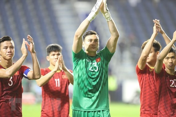Vietnam has climbed one place from 100th to 99th in the latest FIFA rankings thanks to its outstanding performances at the Asian Cup 2019. (Photo: VNA)