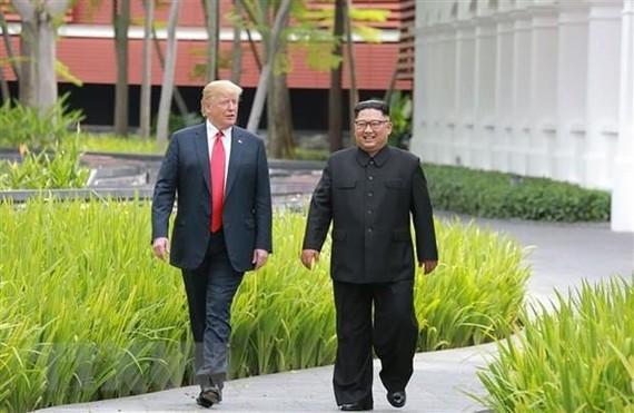 US President Donald Trump (left) and DPRK leader Kim Jong-un (Source: AFP/VNA)