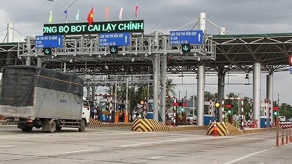 Cai Lay BOT toll station will reopen in National Highway 1A in the Mekong Delta province of Tien Giang on March 25