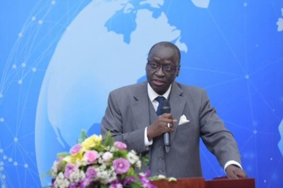 Vice President of the WB Group Human Resources Ousmane Diagana (Source: giaoducthoidai.vn)