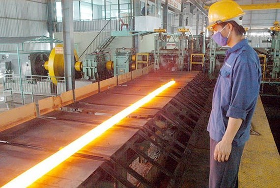 Vietnam imports nearly 100 percent of materials for steel production