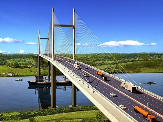 HCMC and Dong Nai province speed up construction of Cat Lai Bridge