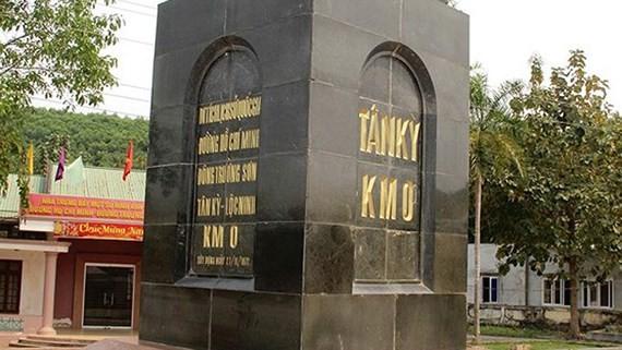 Kilometer Zero in Ho Chi Minh Trail open to tourists