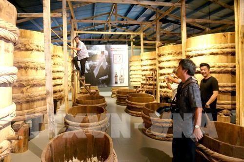 Visitors inside the museum (Photo: VNA)