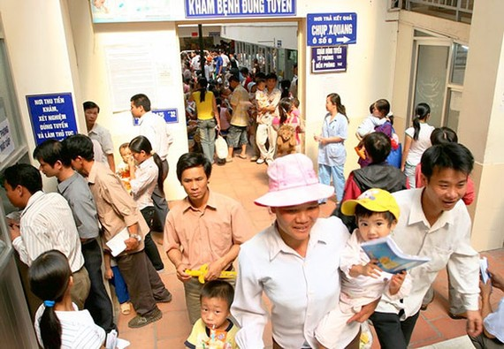The large numbers of patients suffering from heat-related illnesses increased