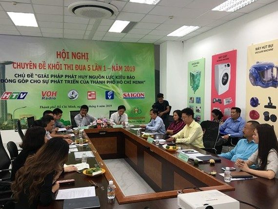 A symposium on solutions for promoting overseas human resources to contribute to the development of Ho Chi Minh City