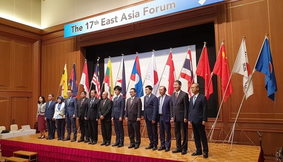 Participants at the 17th East Asia Forum (Photo: VNA)
