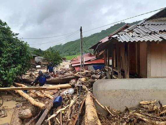 13 people still missing due to violent flooding in Thanh Hoa