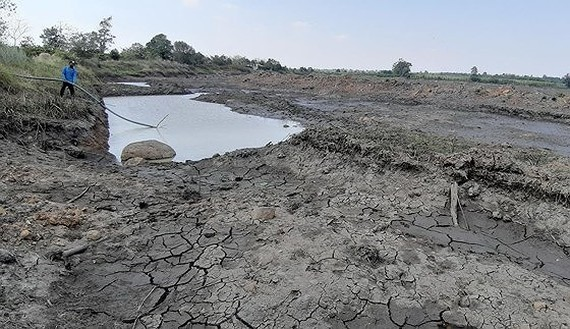 Drought warning follows the rain and flood season in the Central region