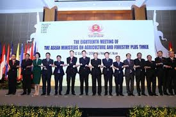 (Photo from https://asean.org/eighteenth-meeting-asean-ministers-agriculture-forestry-ministers-agriculture-peoples-republic-china-japan-republic-korea-18th-amaf-plus-three/)