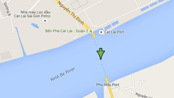 A construction project of the Cat Lai Bridge is  replaced current Cat Lai ferry.