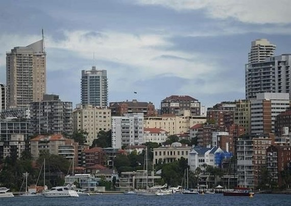A harbour in Australia. The country received the largest share of Vietnamese outbound investment in the first eight months of this year (Photo: AFP)