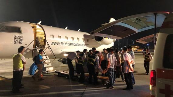 Các nạn nhân được chuyển từ Ai Cập về Việt Nam