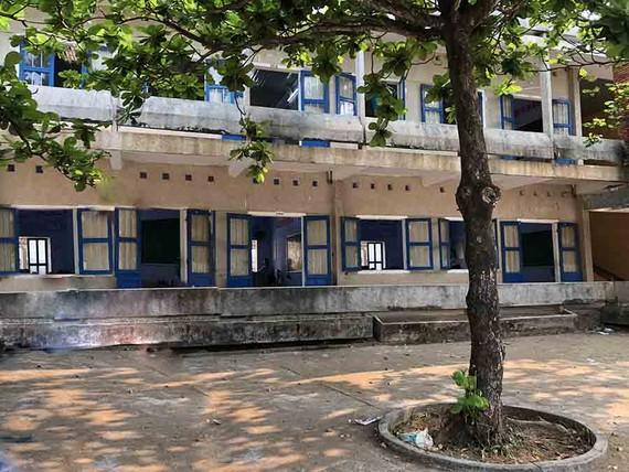 Trường THPT Lý Sơn đang xuống cấp nghiêm trọng