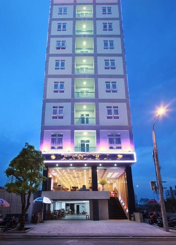 The hotel where visitor dies (photo SGGP)