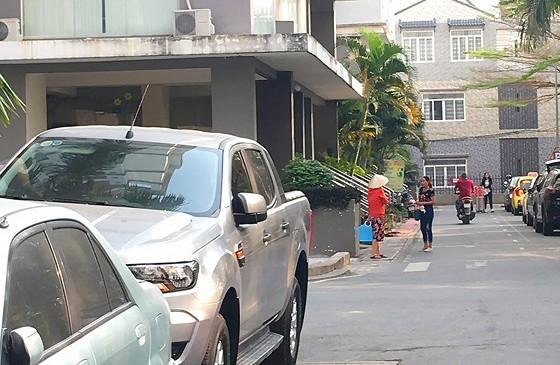Một góc Khu dân cư Tam Phú