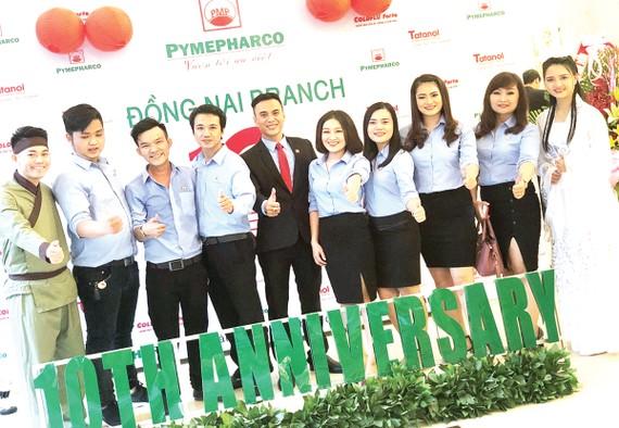 Pymepharco kỷ niệm 10 năm thành lập chi nhánh Đồng Nai và chi nhánh Lâm Đồng (2008 - 2018)