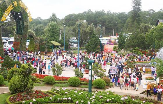 Đà Lạt - điểm du lịch thu hút đông du khách trong các dịp nghỉ lễ. Ảnh: ĐOÀN KIÊN