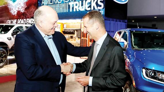 Tập đoàn Volkswagen và Công ty Ford Motor thiết lập liên minh sản xuất ô tô toàn cầu