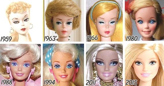 Búp bê Barbie tròn 60 tuổi: Luôn theo kịp nhịp sống thời đại
