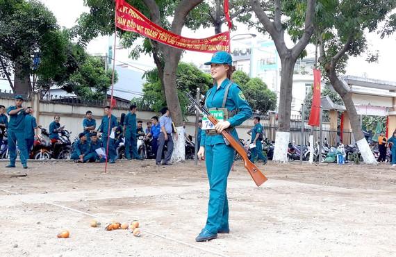 Quận Tân Phú tổ chức hội thao quốc phòng năm 2019