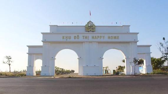 Mặt tiền khu đô thị Happy Home