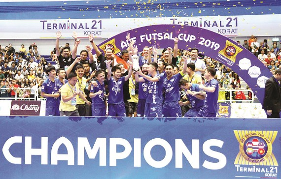 Sanvinest S.Khánh Hòa thi đấu thành công  tại AFF Futsal Cup 2019 với vị trí Á quân