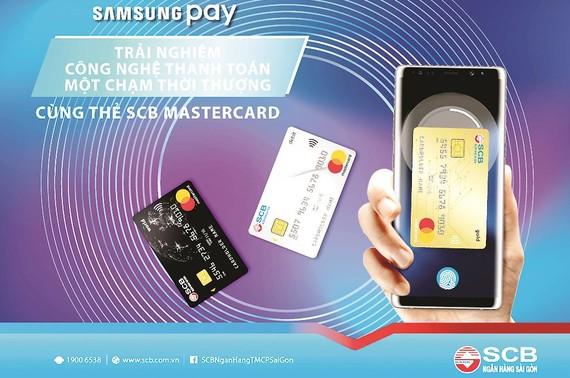 """Nhiều ưu đãi trong chương trình """"Thanh toán Samsung Pay -  Nhận ngay ưu đãi"""" tại SCB"""