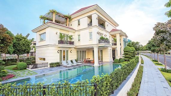 Nhà mẫu biệt thự Saroma Villa 1