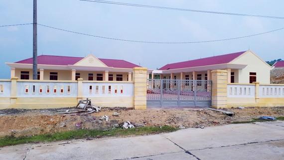 Sau gần 4 năm triển khai, làng TNLN Tây Kỳ Anh mới chỉ xây dựng được một số nhà điều hành