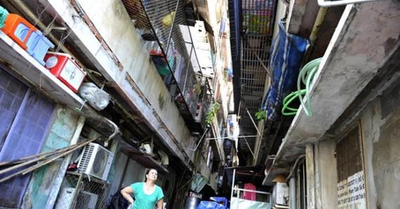 現今還有不少殘舊公寓正潛伏火警隱患。