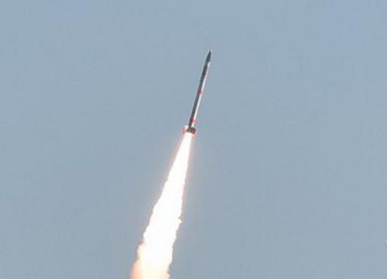 日本製造的世界上最小的SS-520火箭。(圖源:互聯網)