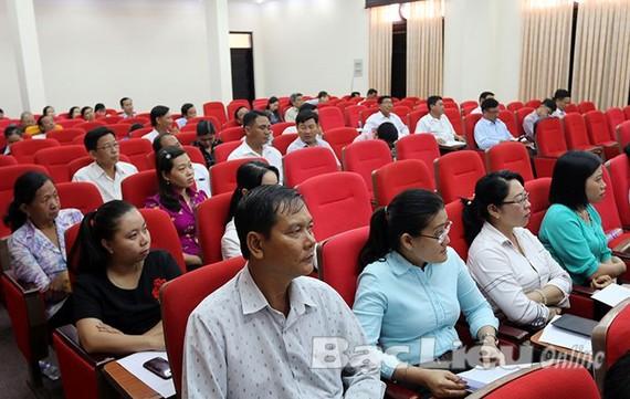 圖為薄寮省開辦的旅遊產品業務發展專題集訓班一瞥。