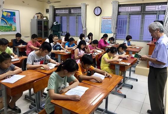 崇華華文中心暑期班開課