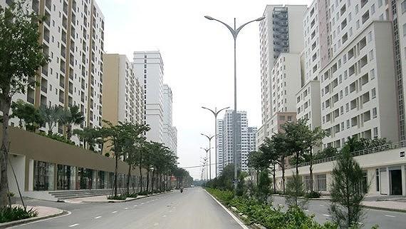 守添 24 民戶同意搬進公寓。圖為守添安置房項目。