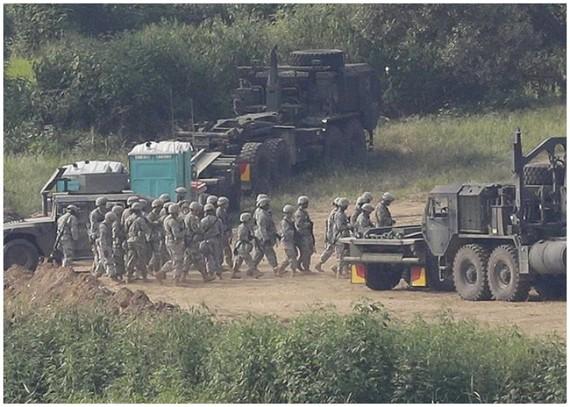 """""""乙支演習""""被朝鮮視為威脅性的舉動。(圖源:AP)"""