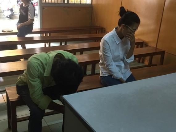 涉案夫妻兩人出庭受審。(圖源:Q.C)
