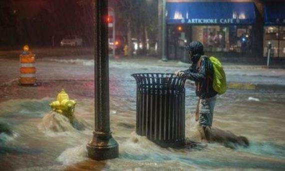 世界氣象組織:7月全球極端天氣頻發,可能與氣候變暖有關