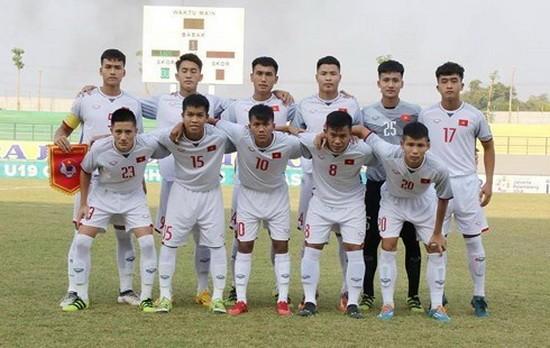 越南U19隊。