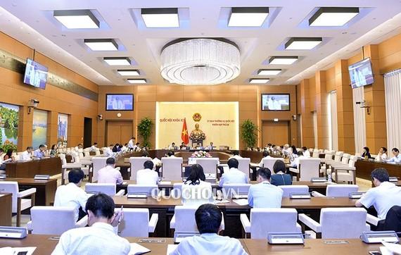 國會常務委員會第26次會議場景一隅。(圖源:Quochoi.vn)
