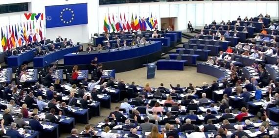 歐洲議會以大比數通過歐盟新的版權(著作權)法案。(圖源:互聯網)