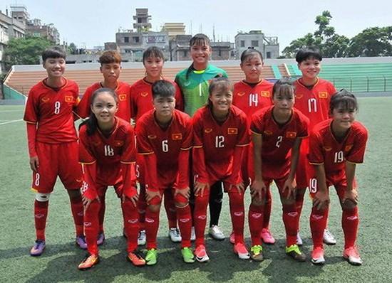 越南U16女子隊。