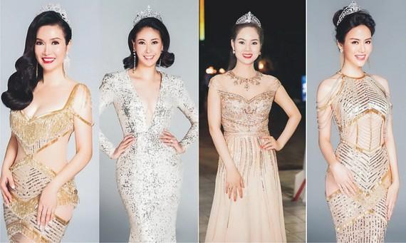 越南小姐裴碧芳、何嬌英、梅芳、秋水。