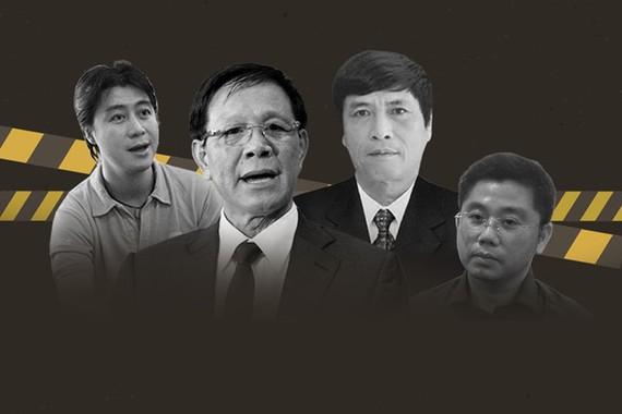 將於11月12日出庭受審的4名被告人。(圖源:鳳阮)